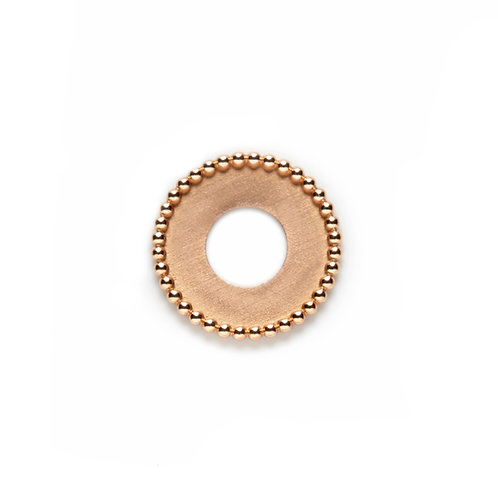 17mm Rose Gold SPHERES Disc
