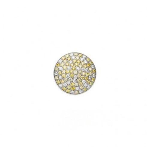 14mm Pavé Fancy Diamond HIGHLIGHTS Centerpiece