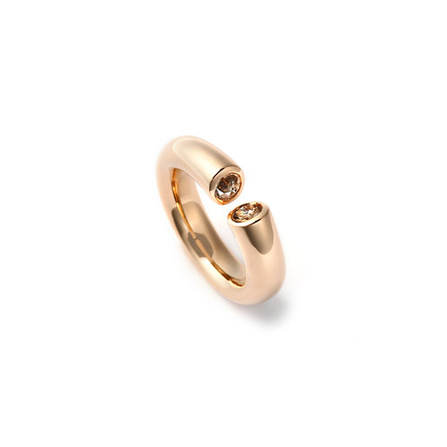 DIALOG Ring Rose Gold