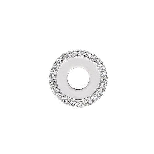 18mm White Sapphire CIRCULUS Disc