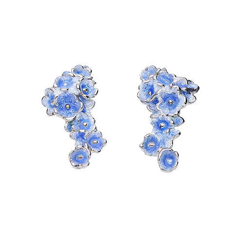 Blue FORGET-ME-NOT Earrings