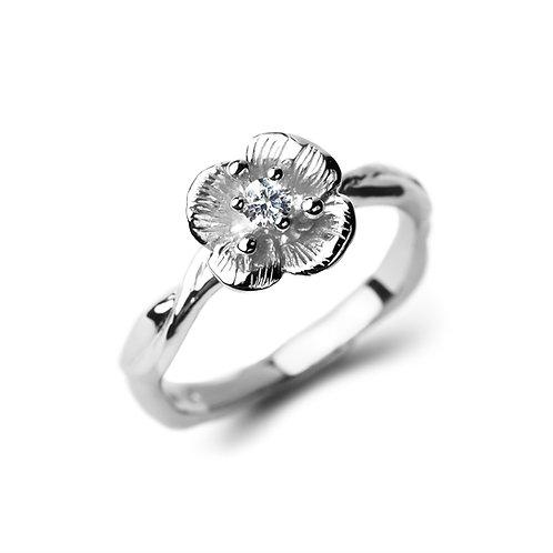 DIAMOND FLOWER Veronica Ring