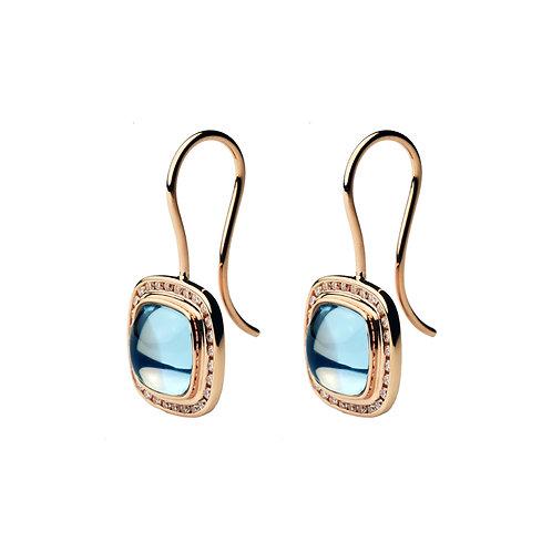 Blue Topaz PIAZZA Earrings