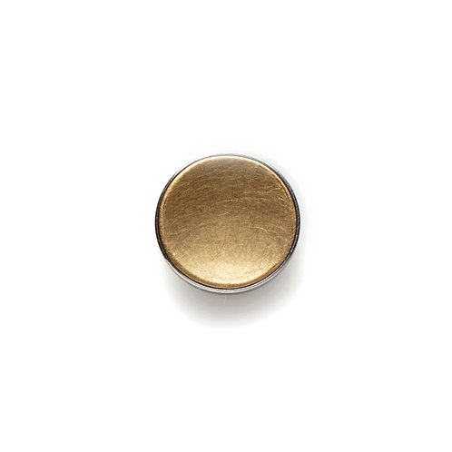 14mm GOLD BUTTON Matte