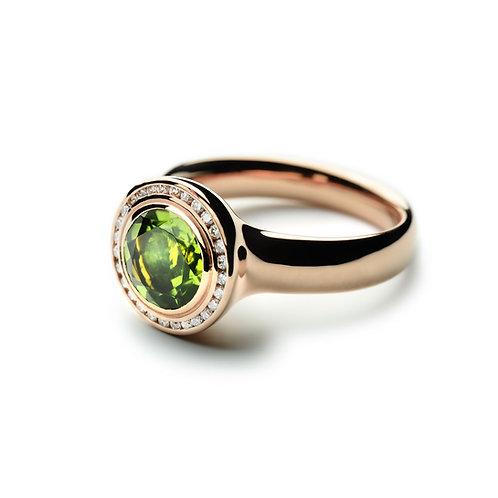 TRESORO Peridot Ring