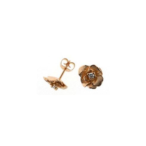 ROSEN GOLD Diamond Earrings