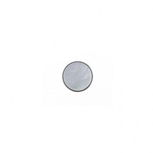 10mm White Pearl Color Button
