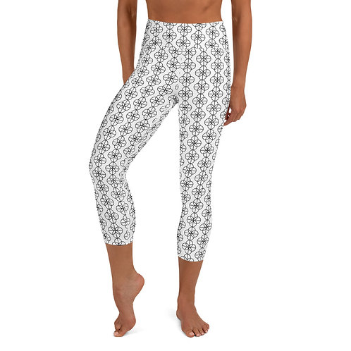 Ehinger Schwarz 1876 Maker's Mark Yoga Capri Leggings
