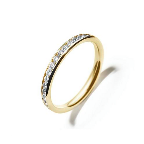 ILY MEMOIRE Ring Gold All-Around