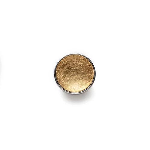 10mm GOLD BUTTON Matte