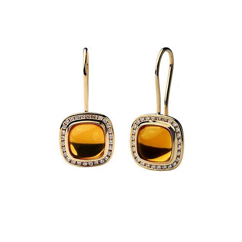 Citrine PIAZZA Earrings
