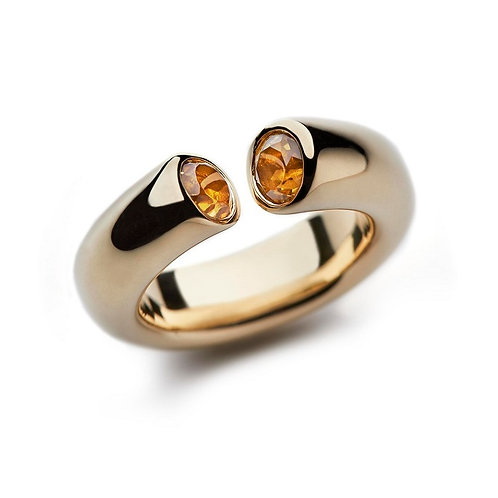 Golden Beryl and Gold DIALOG Ring