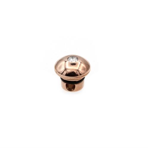 Ehinger Schwarz 1876 - 10mm HIGHLIGHTS Rose Gold and Diamond Centerpiece