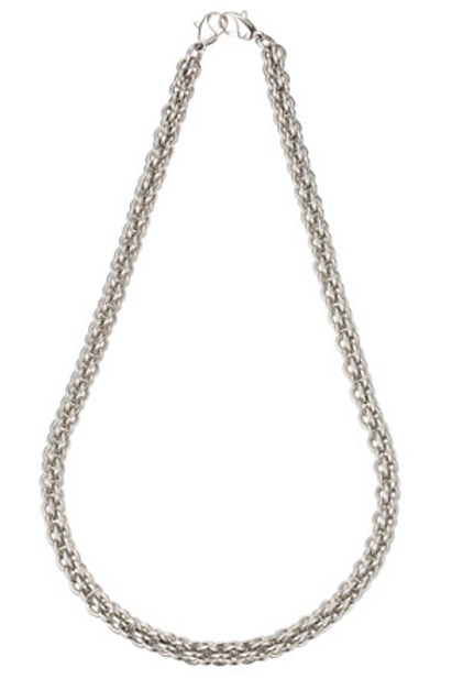 """8mm Steel Anchor Chain Necklace 24"""""""