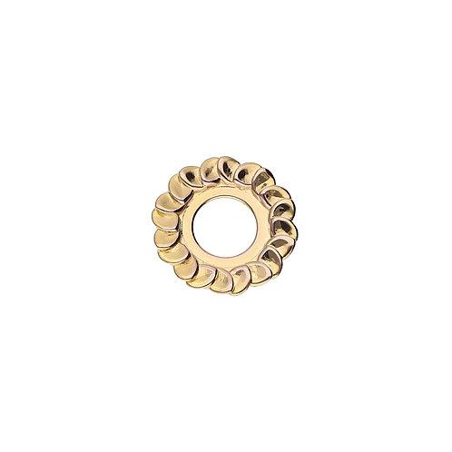 17mm Gold LAUREL Disc