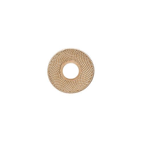 20mm FIBONACCI Disc in Rose Gold