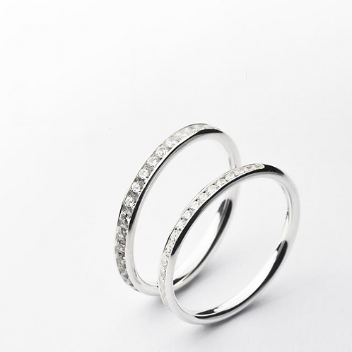 ILY MEMOIRE Ring Platinum All-Around