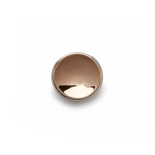 14mm Rose GOLD BUTTON