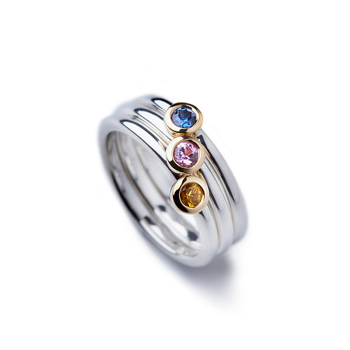 GRAPHIC Sapphire Ring