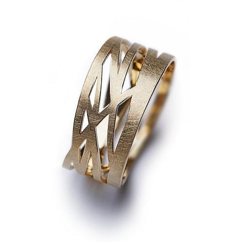 Gold GRASSES Ring