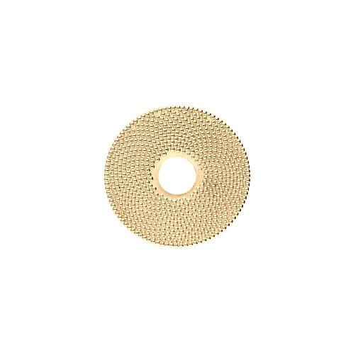 28mm FIBONACCI Disc in Gold