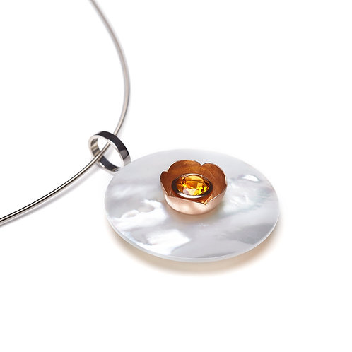 15mm Rose Gold BLOSSOM CUP Disc