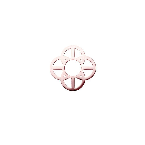 20mm Rose Gold CIRCLES Disc