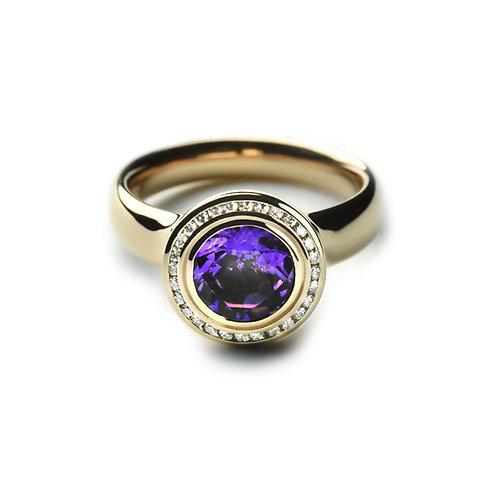 TRESORO Amethyst Ring