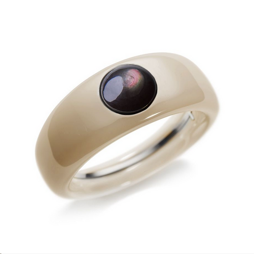 Ceramic TOUCH Ring in Sand