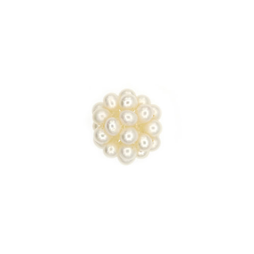 17mm White Pearl Cluster Pendant