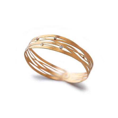 GRASSES Gold and Gemstone Bracelet