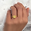 Thumbnail: DIAMOND FLOWER Daisy Ring