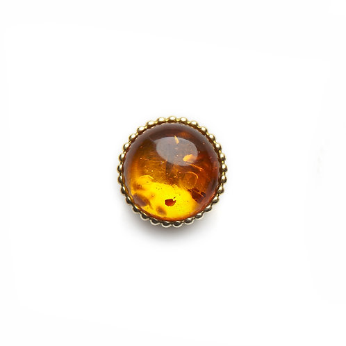 14mm Amber SPHERES Centerpiece