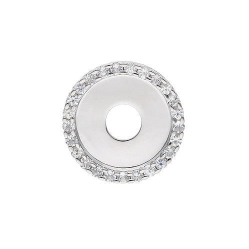 24mm White Sapphire CIRCULUS Disc