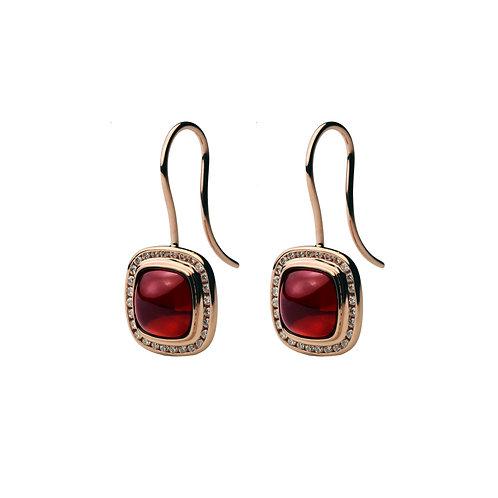 Rhodolite PIAZZA Earrings