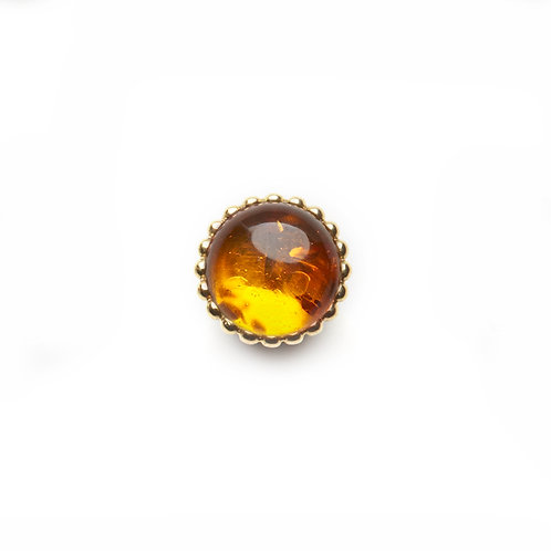 10mm Amber SPHERES Centerpiece