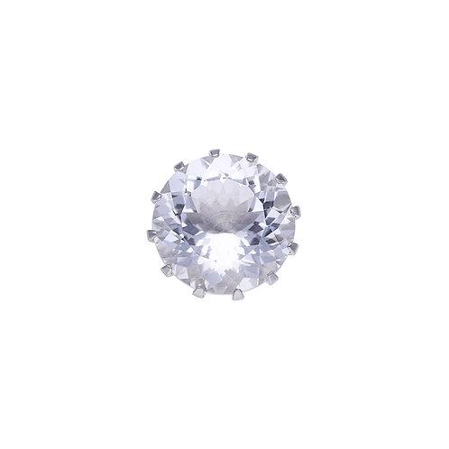 16mm Rock Crystal CROWN Centerpiece