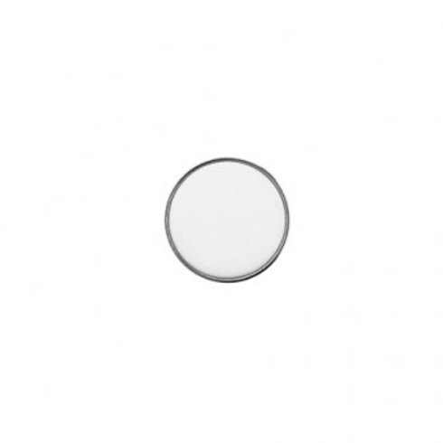 14mm White Color Button