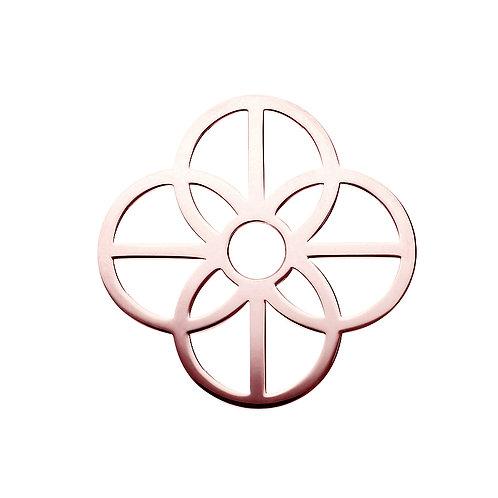 40mm Rose Gold CIRCLES Disc