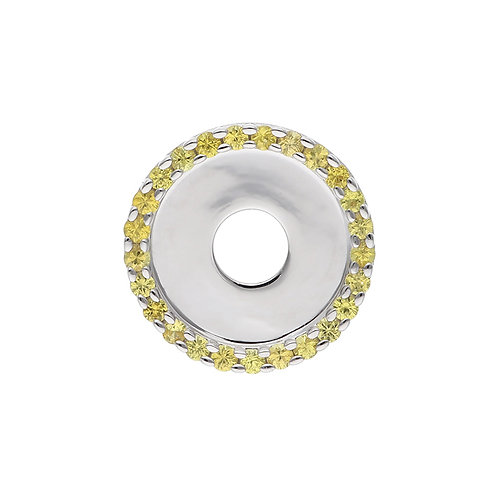 24mm Yellow Sapphire CIRCULUS Disc