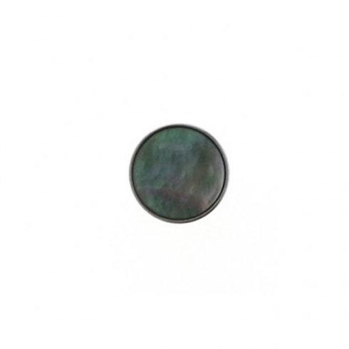 14mm Tahiti Pearl Color Button