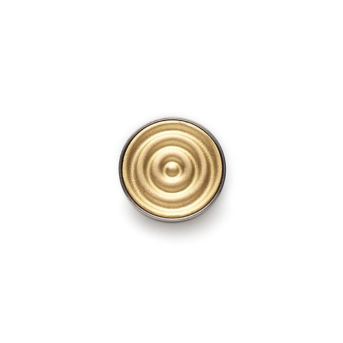 14mm Wave GOLD BUTTON