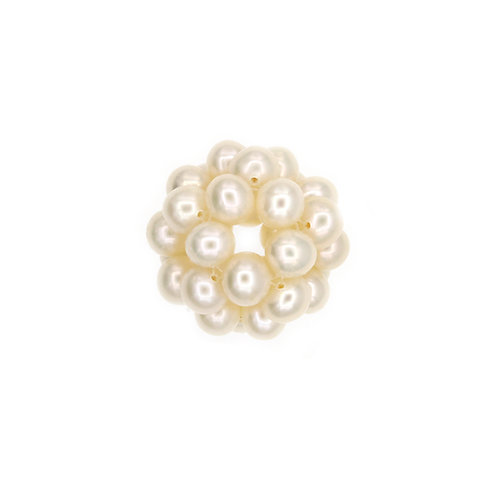 22mm White Pearl Cluster Pendant