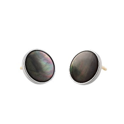 10mm Tahitian Mother-Of-Pearl EAR BUTTONS