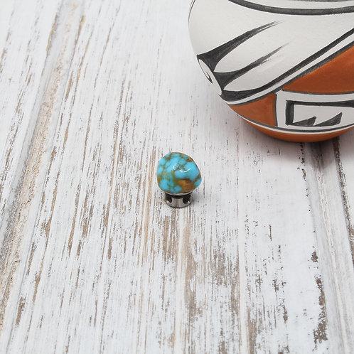 SANTA FE Cerrillos Turquoise Nugget Centerpiece