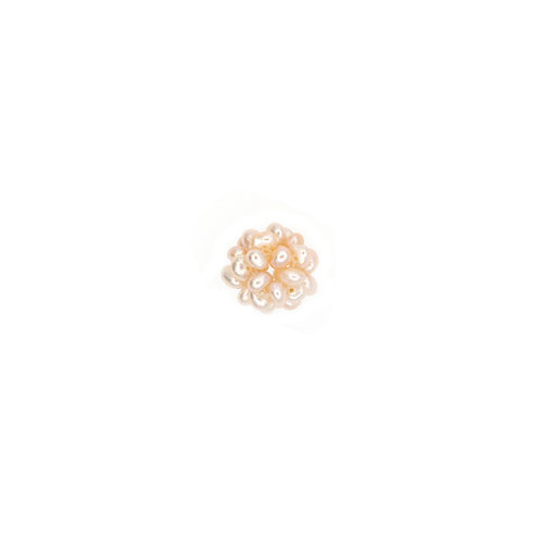 12mm Raspberry Pearl Cluster Pendant