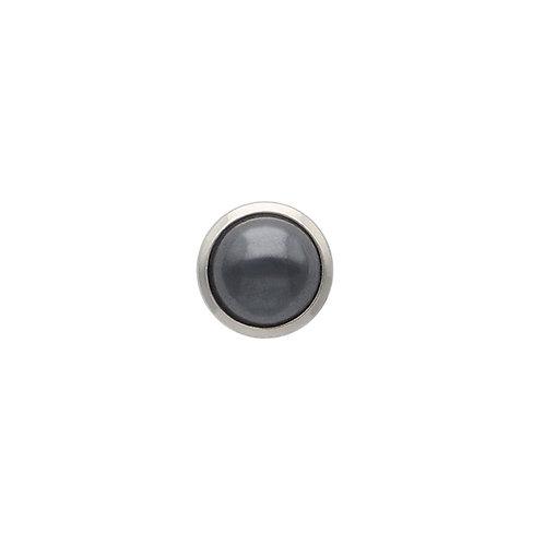 Hematite Cabochon TOUCHSTONE Cylinder