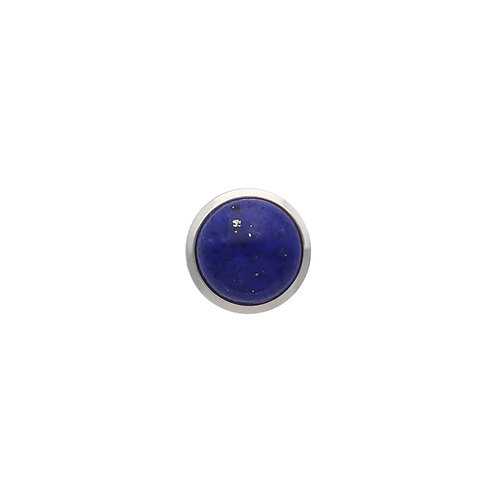 Lapis Cabochon TOUCHSTONE Cylinder