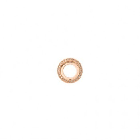 14mm HIGHLIGHTS Rose Gold and Diamond Disc