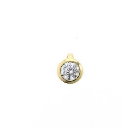 DIAMOND SOLO Pendant Gold